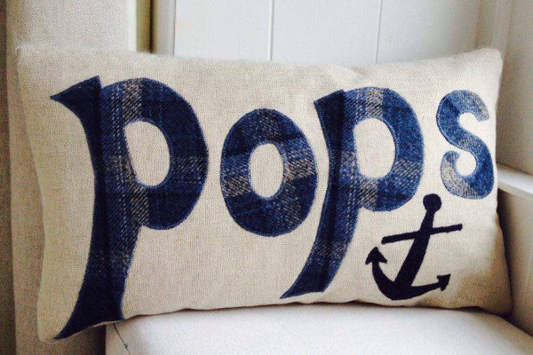 Handmade 'Pops' cushion