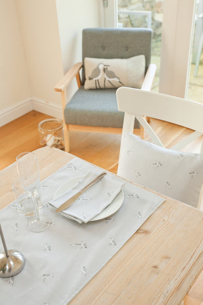 Four Dunlin Napkins