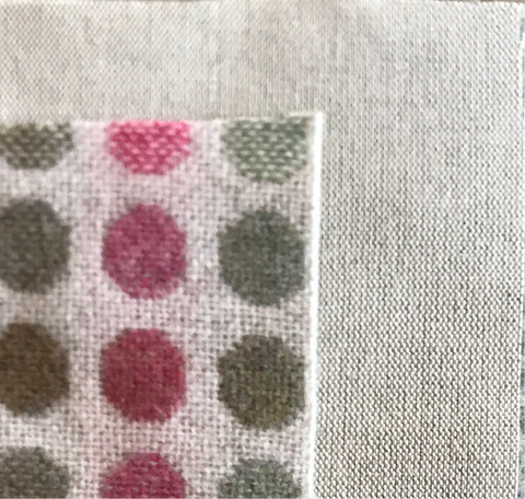 Linen/cotton fabric