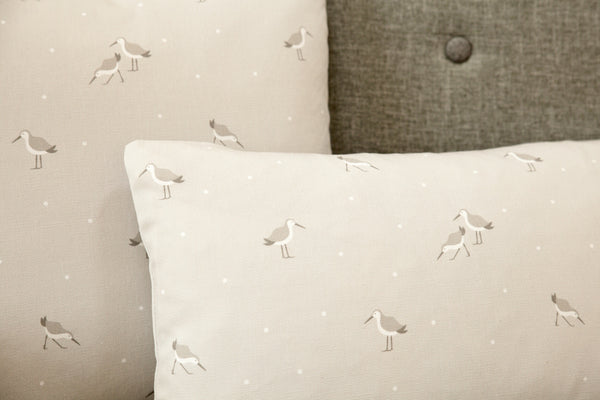 Dunlin Fabric cushion