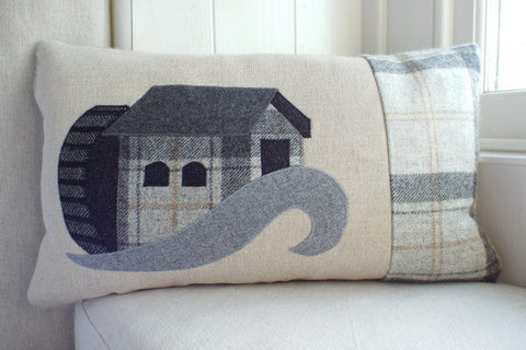 Handmade Water Mill Cushion