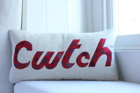 Handmade 'Cwtch' Cushion in Melin Tregwynt