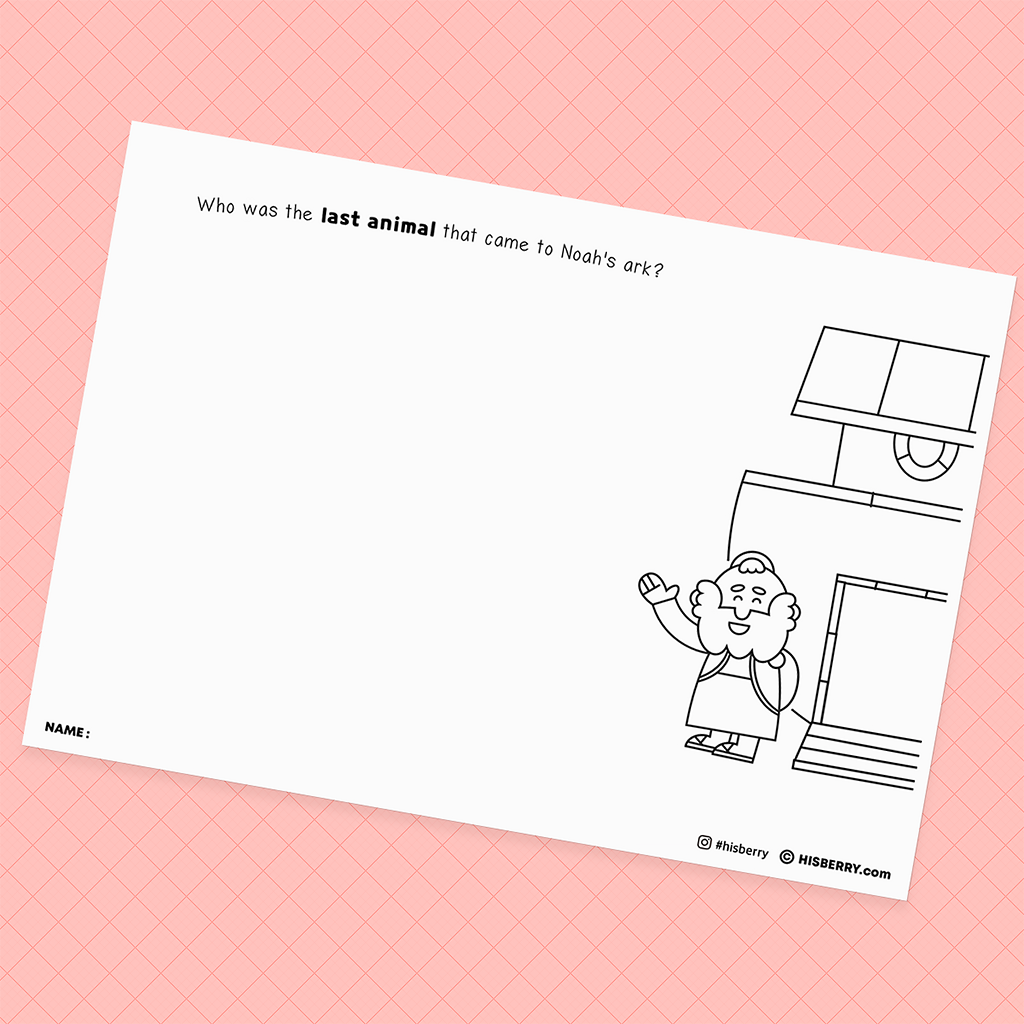 Noah-buildes-the-ark1-drawing-pages-printables