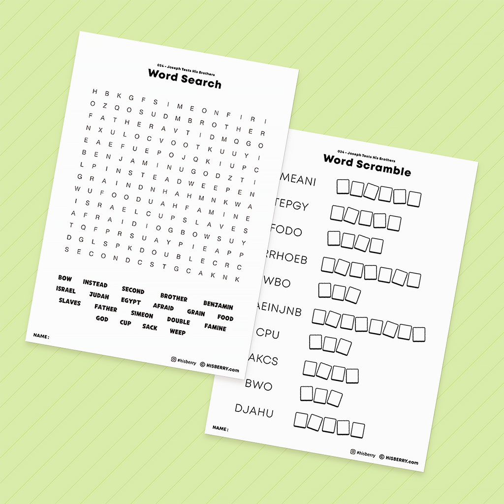 Joseph-Tests-Brothers-bible-verse-printable-for-kid
