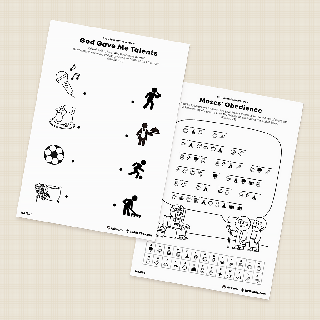Bricks-Without-Straw-Bible-lesson-Activity-Printables