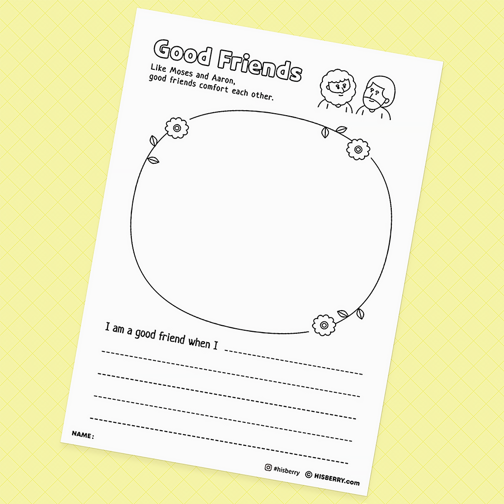 Bricks Without Straw - Creative Drawing Pages Printable