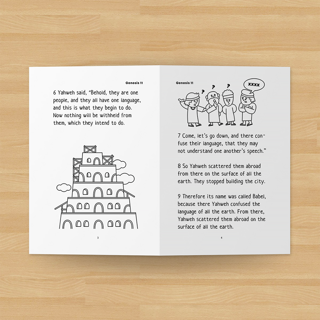 The-Tower-of-Babel-bible-minibook-printable-for-kid