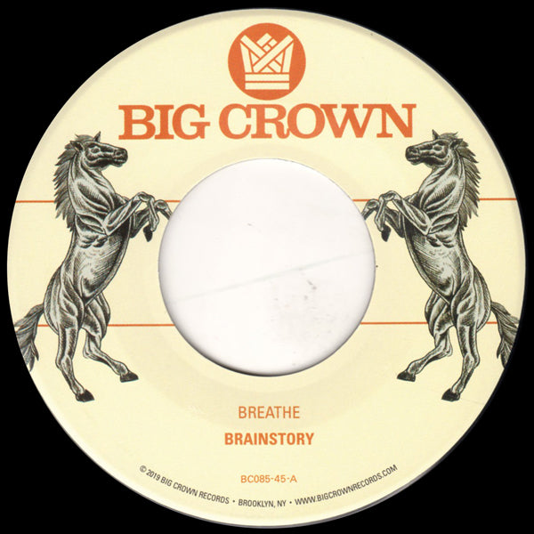 "Brainstory - Breathe (Vinyl 7"")"