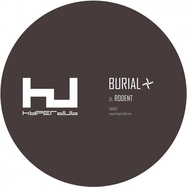 "Burial - Rodent (Vinyl 10"")"