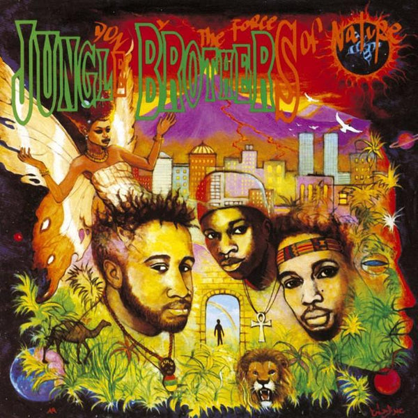 Jungle Brothers - Done By The Forces Of Nature (Ltd. Vinyl 2LP)