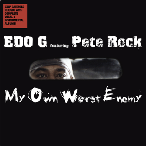 Edo G Ft. Pete Rock – My Own Worst Enemy (Vinyl 2LP)