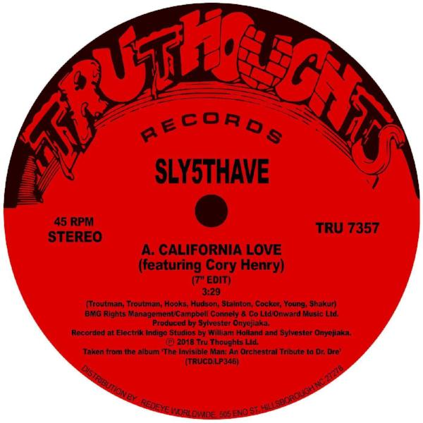 "Sly5thave - California Love (Vinyl 7"")"