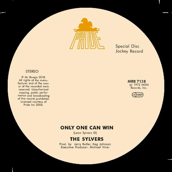 "The Sylvers - Only One Can Win / Fools Paradise (Vinyl 7"")"