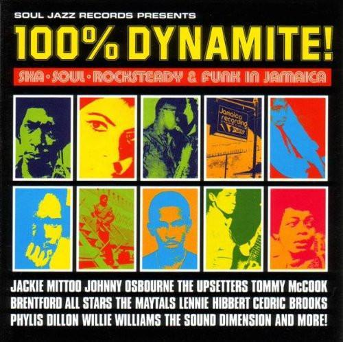 Various - Soul Jazz Presents: 100% Dynamite! Soul-Ska-Rocksteady & Funk In Jamaica (Vinyl LP)