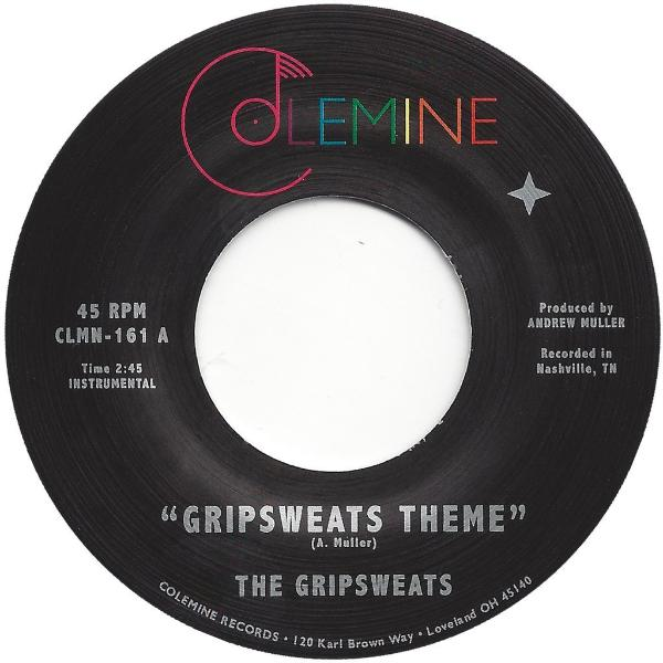 "The Gripsweats ‎– Gripsweats Theme (Vinyl 7"")"