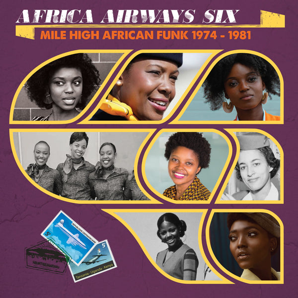 Various ‎– Africa Airways Six (Mile High African Funk 1974-1981) (Vinyl LP)