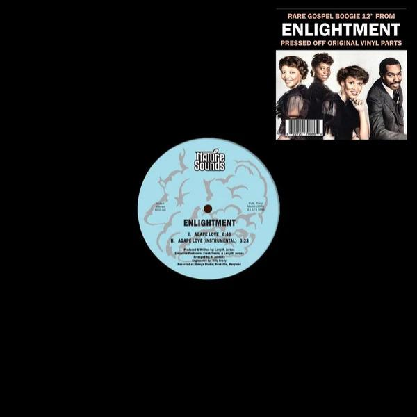 "Enlightment ‎– Agape Love (Vinyl 12"")"