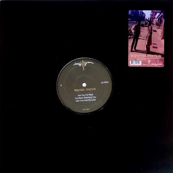 "Webster Station – Are You For Real (Vinyl 12"")"