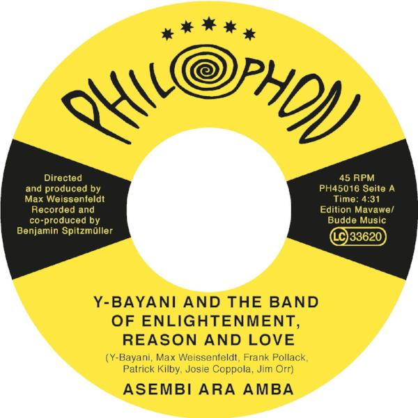 "Y-Bayani & The Band of Enlightenment - Asembi Ara Amba (Vinyl 7"")"