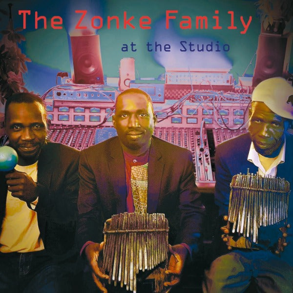 Zonke Family ‎– At The Studio (Vinyl LP)