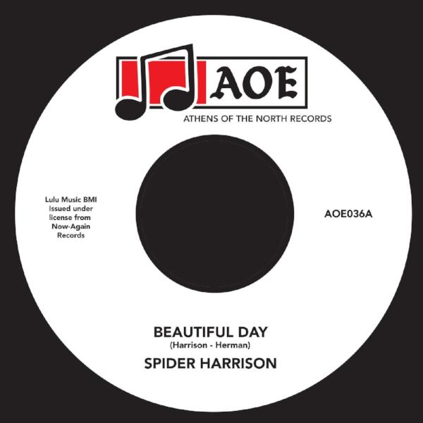 "Spider Harrison - Beautiful Day (Vinyl 7"")"