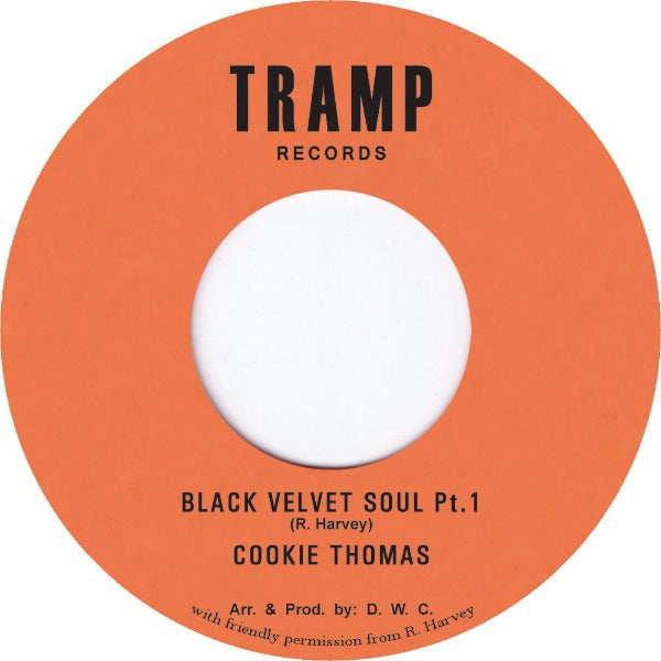 "Cookie Thomas & The C. T. Band ‎– Black Velvet Soul (Vinyl 7"")"