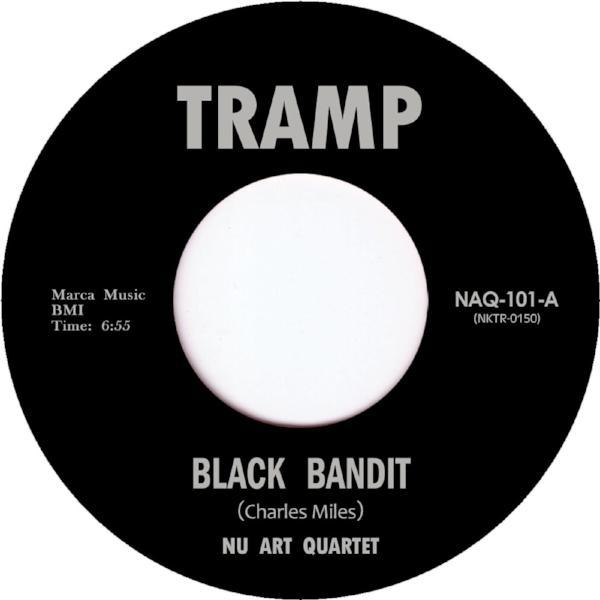 "Nu Art Quartet - Black Bandit (Vinyl 7"")"