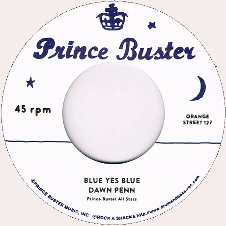 "Dawn Penn, Prince Buster All Stars ‎– Blue Yes Blue (Vinyl 7"")"