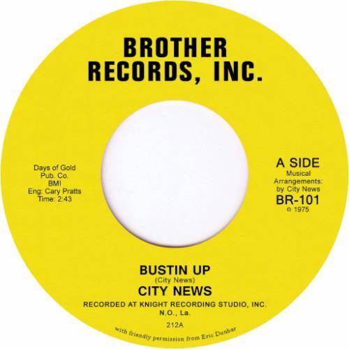 "City News – Bustin Up / Chan The Man (Vinyl 7"")"