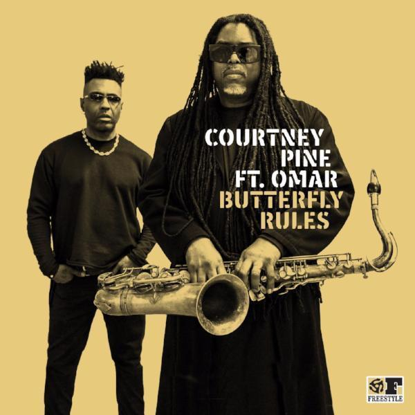 "Courtney Pine - Butterfly (Vinyl 7"")"