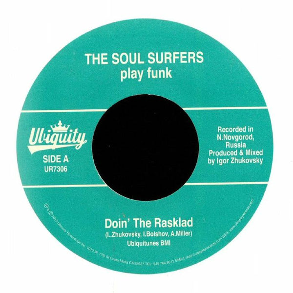 "The Soul Surfers – Doin' The Rasklad (Vinyl 7"")"