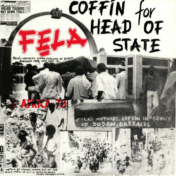Fela Kuti & Africa 70 ‎– Coffin For Head Of State (Vinyl LP)