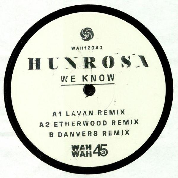 "Hunrosa - We Know: Remixes (Vinyl 12"")"