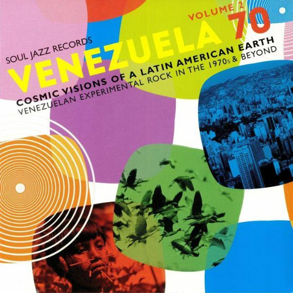 Various - Venezuela 70 Volume 2: Cosmic Visions Of A Latin American Earth (Vinyl 2LP)