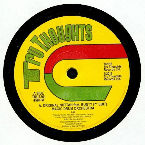 "Magic Drum Orchestra - Original Nuttah (Vinyl 7"")"