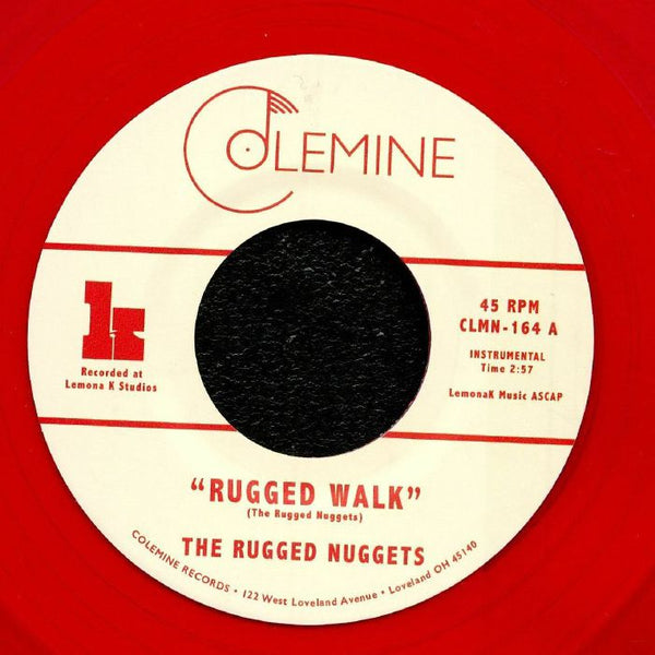 "The Rugged Nuggets ‎– The Rugged Walk (Vinyl 7"")"