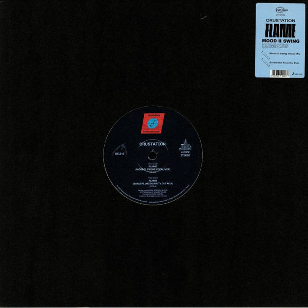 "Crustation ‎– Flame (Vinyl 12"")"