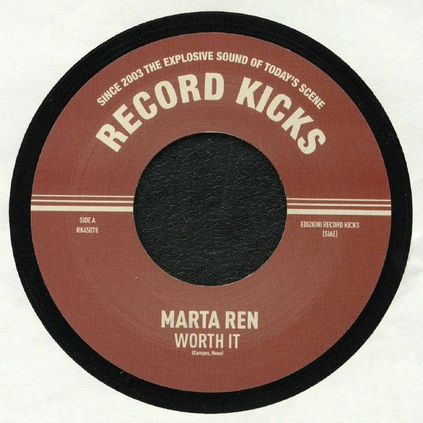 "Marta Ren ‎– Worth It (Vinyl 7"")"
