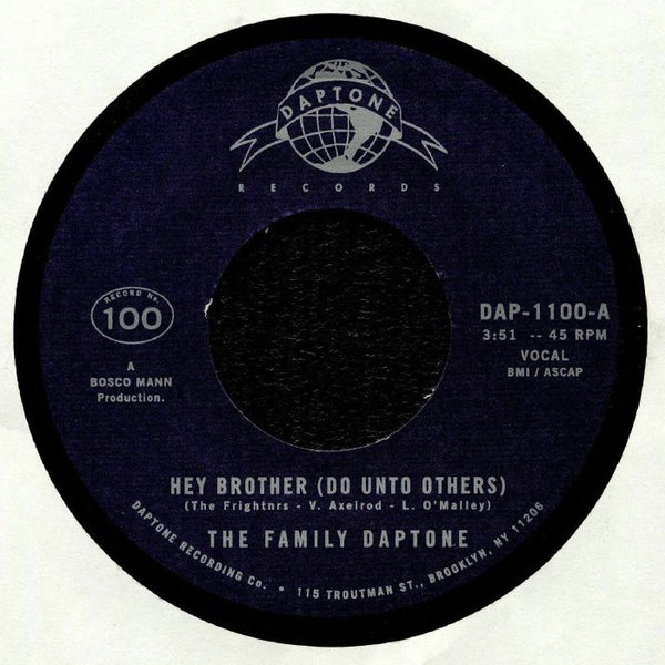 "The Family Daptone – Hey Brother (Do Unto Others) (Vinyl 7"")"
