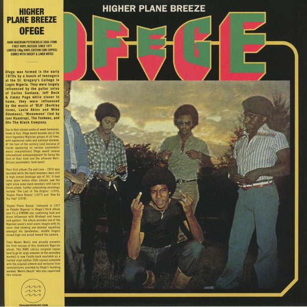 Ofege ‎– Higher Plane Breeze (Vinyl LP)