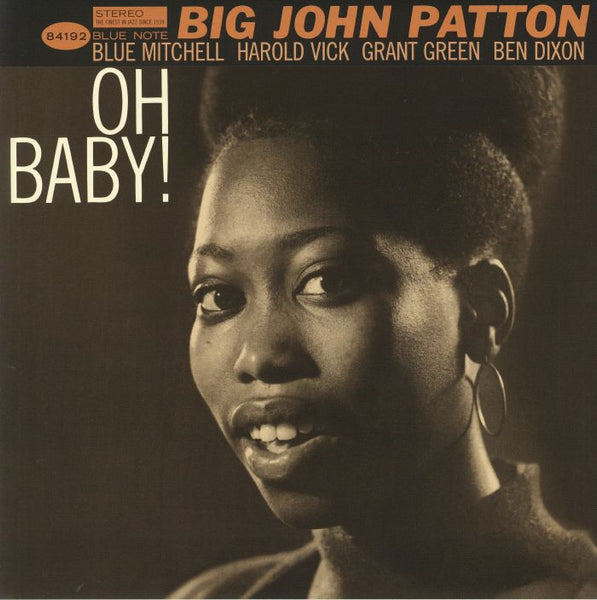 Big John Patton ‎– Oh Baby! (Vinyl LP)