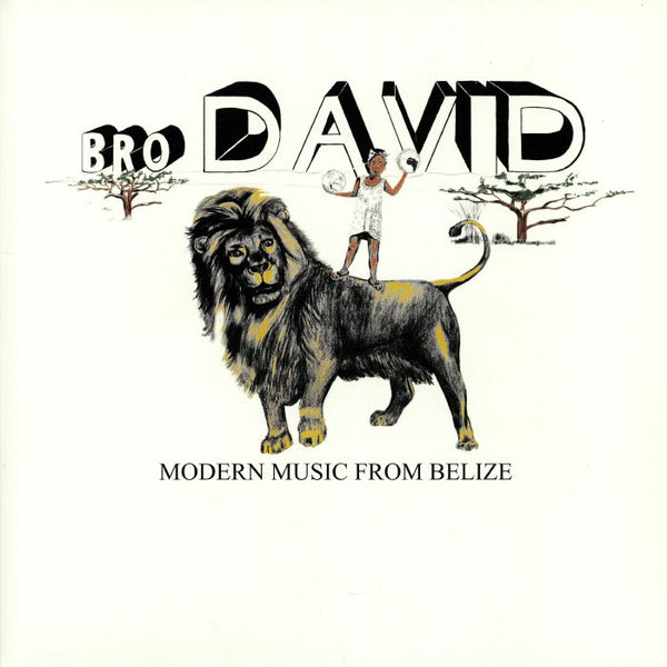Bro David ‎– Modern Music From Belize (Vinyl LP)