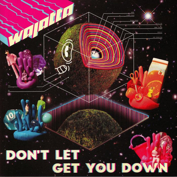 Wajatta ‎– Don't Let Get You Down (Vinyl 2LP)