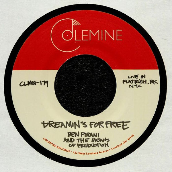 "Ben Pirani & The Means of Production ‎– That's The Way It Goes (Vinyl 7"")"