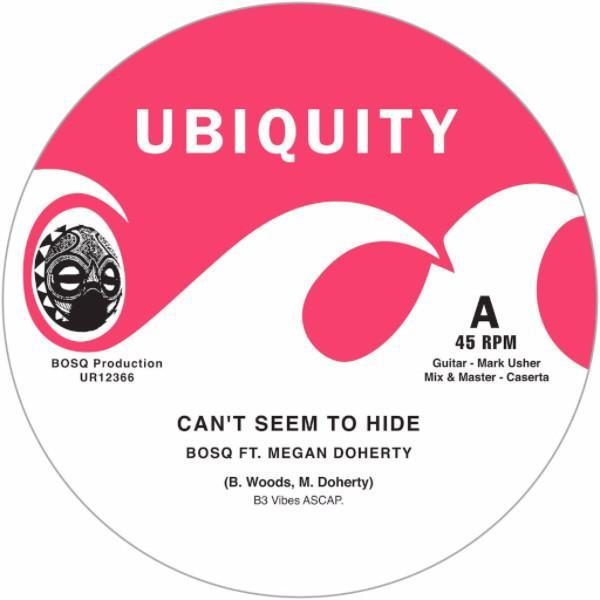 "Bosq ‎– Can't Seem To Hide (Vinyl 12"")"