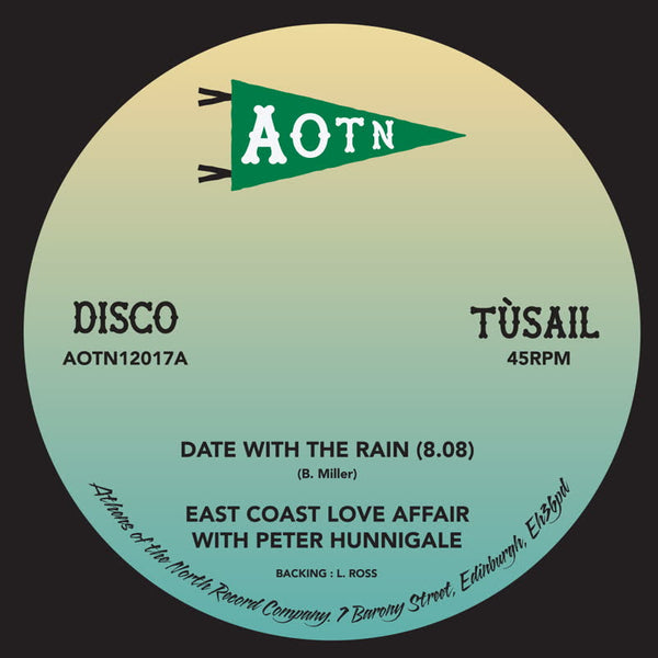 "East Coast Love Affair ‎– Date With The Rain (Vinyl 12"")"