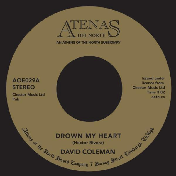 "David Coleman - Drown My Heart (Vinyl 7"")"