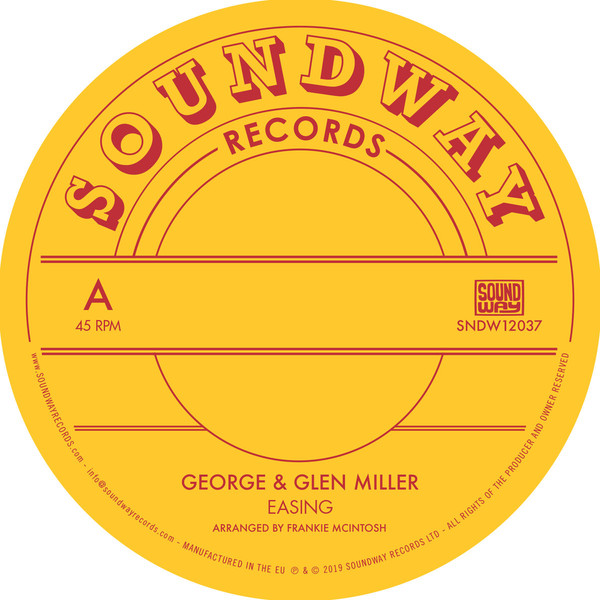 "George & Glen Miller / The Millers ‎– Easing (Vinyl 12"")"