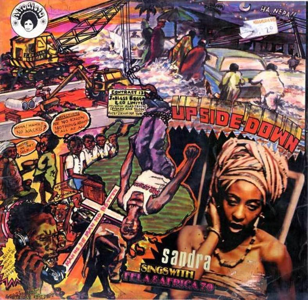 Fela Kuti & The Africa 70 – Up Side Down (Vinyl LP)