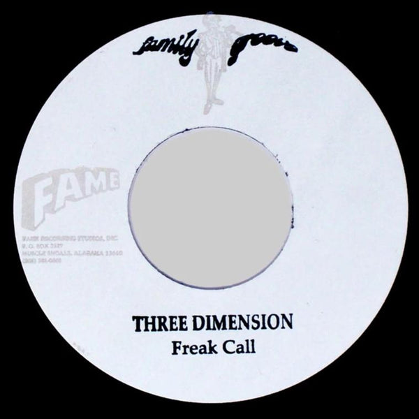 "Three Dimension ‎– Freak Call (Vinyl 7"")"